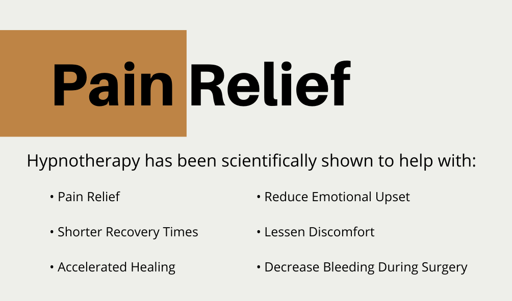 California Hypnotherapy Pain Relief